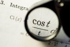 Mathesymbol Lizenzfreies Stockfoto