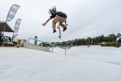 Matheus Freitas podczas 4th sceny DC łyżwy wyzwania Zdjęcie Stock