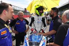 Mathew Scholtz #20 auf Suzuki GSX-R 600 NS Suriano Corse Supersport WSS Stockfotos