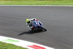 Mathew Scholtz #20 on Suzuki GSX-R 600 NS Suriano Corse Supersport WSS stock photo