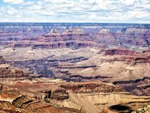 Mathew View Point - Grand Canyon, södra kant, Arizona, AZ arkivfoto