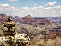 Mathew View Point - Grand Canyon, södra kant, Arizona, AZ arkivbilder