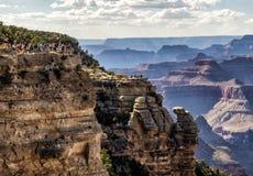 Mathew View Point - Grand Canyon, södra kant, Arizona, AZ royaltyfri foto