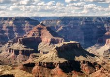 Mathew View Point - Grand Canyon, södra kant, Arizona, AZ arkivfoton