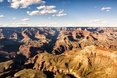 Mathew View Point - Grand Canyon, södra kant, Arizona, AZ royaltyfri bild
