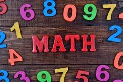 Mathewort auf Tabelle Stockbilder