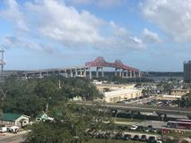Mathews桥梁,杰克逊维尔,佛罗里达 免版税库存图片
