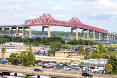 Mathews Bridge, Jacksonville, Florida Royalty Free Stock Images