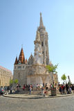 Mathias Church in Budapest, Hungary Stock Photo