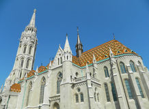 Mathias church in Budapest, Hungary Stock Image
