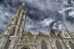 Mathias Church in Budapest Stock Image