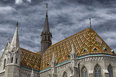 Mathias Church in Budapest Royalty Free Stock Photos
