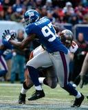 Mathias Kiwanukas, New York Giants Стоковые Фотографии RF
