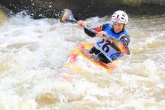 Mathieu Doby - чемпионат мира слалома воды Стоковые Фотографии RF