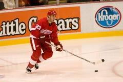 Mathieu Schneider van de Detroit Red Wings royalty-vrije stock afbeelding