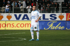 Mathieu Valbuena of Olympique de Marseille Royalty Free Stock Image