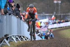 Mathieu Van der Poel - cyclo kors Royaltyfri Fotografi