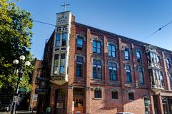 Mathilda Winehill教会在西雅图华盛顿美国  库存图片