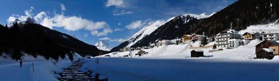 Mathon, montañas de Silvretta, el Tirol, Austria imagen de archivo