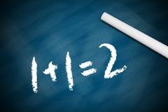 Maths élémentaires Images stock