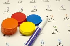 Maths photographie stock libre de droits