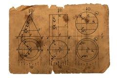 Maths Photographie stock