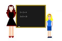 Maths royalty free stock photos