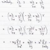 maths royaltyfri fotografi