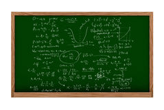 Maths board Royalty Free Stock Photo