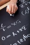 Maths class Royalty Free Stock Photography