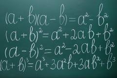 Maths formuły zdjęcie royalty free