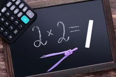 Maths formuły fotografia stock