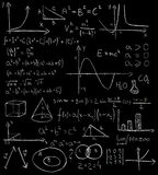 Maths formulas Royalty Free Stock Photo