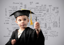 Maths genius Royalty Free Stock Images