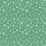 Maths seamless pattern Royalty Free Stock Image