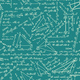 Maths seamless pattern. EPS 8 Stock Images