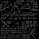 Maths vector background Royalty Free Stock Images