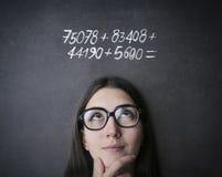Maths Royalty Free Stock Photo