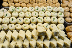 Indian Sweet - Mathura Peda Royalty Free Stock Photography