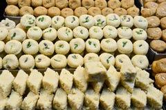 Bonbon indien - Mathura Peda Photographie stock libre de droits
