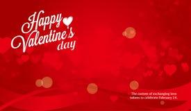 Matière de base de jour du ` s de Valentine Images libres de droits