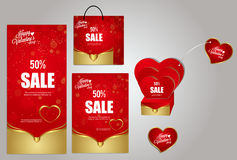 Matière de base de jour du ` s de Valentine Photographie stock