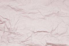 Matière de base de papier chiffonnée Photographie stock