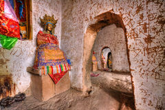 Mati-Tempel-Gansu-Provinz stockfotos