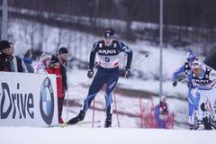 Matias Strandvall - cross country sprint Royalty Free Stock Photo