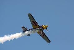 Matijas Doldere in acrobatic flight-1 Stock Photography