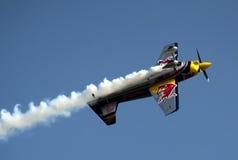 Matijas Doldere in acrobatic flight Royalty Free Stock Image