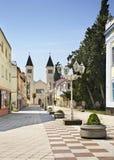 Matije Gupca street in Caplina. Bosnia and Herzegovina.  Stock Images