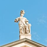 Matilde di Canossa statue in San Benedetto Po, Italy Stock Photo