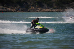 Matim Gallego in Gran Prix of Jet Ski 2012 Royalty Free Stock Photography